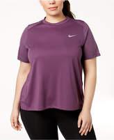 Nike Plus Size Dry Miler Running Top