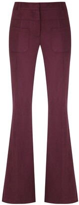 Olympiah Slim Fit Flared Trousers