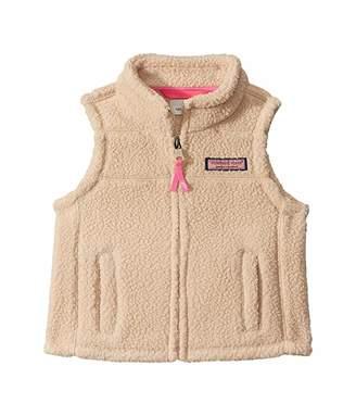 Vineyard Vines Kids Sherpa Vest (Toddler/Little Kids/Big Kids)