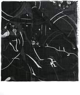 Valentino panther print scarf