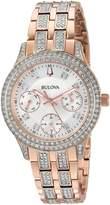 Bulova 98N113 Crystal Women's Watch