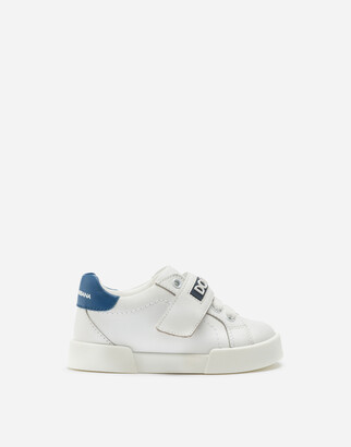 Dolce & Gabbana Portofino Light Sneakers With Rubberized Logo