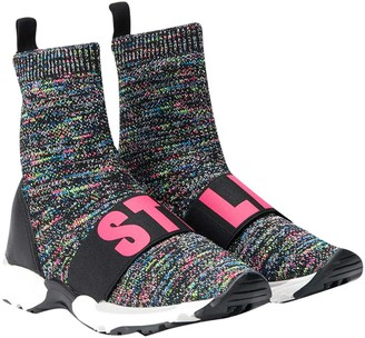 Stella McCartney Kids Gray Sneaker Socks Teen