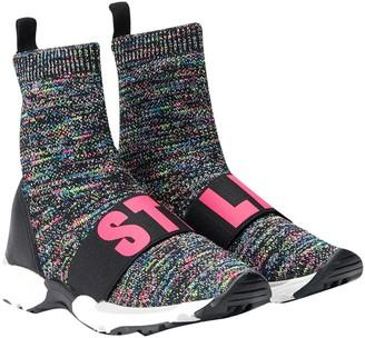 Stella McCartney Kids Gray Sneaker Socks