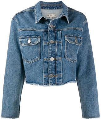 Fiorucci Berty cropped denim jacket