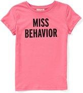 Kate Spade Little Girls 2-6 Miss Behavior Short-Sleeve Top