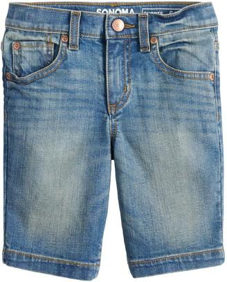 Sonoma Goods For Life Boys 4-12 5 Pocket Denim Shorts
