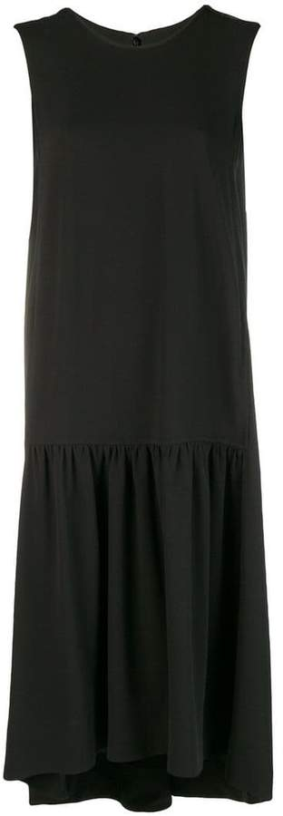 Salvatore Ferragamo high-low hem dress