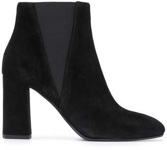 Pollini square-toe ankle boots