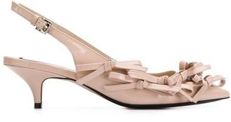 No.21 bow detail sandals