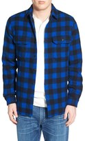 Woolrich Buffalo Plaid Wool Blend Flannel Shirt