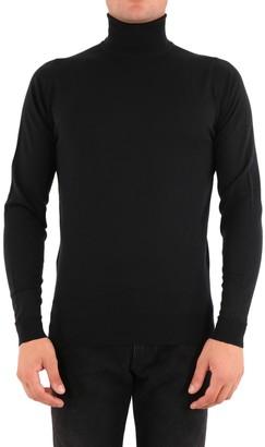 John Smedley Merino Wool Sweater Black