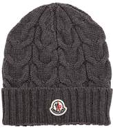 Moncler Wool Cable Knit Hat