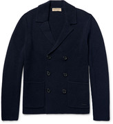Burberry - London Double-breasted Wool And Cashmere-blend Cardigan