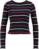 New Look GEORGIE STRIPE Long sleeved top blue pattern