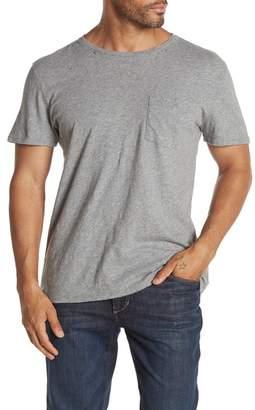 Hudson Jeans Crew Neck Pocket T-Shirt