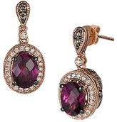 LeVian Chocolatier Multi-Stone, Semi-Precious and 14K Strawberry Gold Drop Earrings