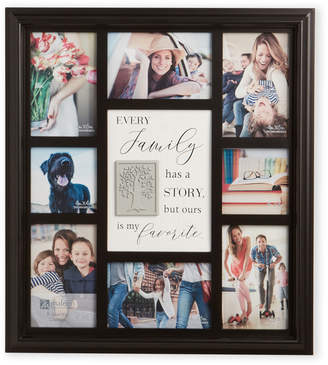Malden 8-Picture Black Family Collage Picture Frame