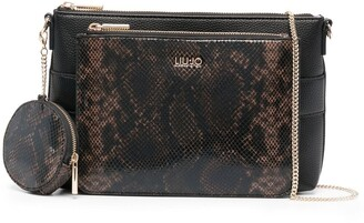Liu Jo Snake-Effect 3 In 1 Cross Body Bag