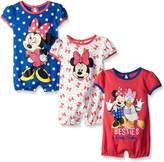 Disney Baby Minnie 3 Pack Rompers