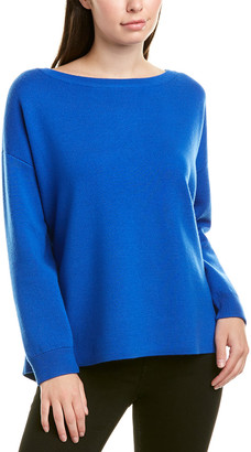 Alice + Olivia Marmont Wool-Blend Tunic Sweater