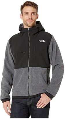 The North Face Denali 2 Hoodie (Charcoal Grey Heather) Men's Sweatshirt