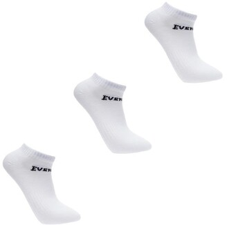 Everlast 3 Pack Trainer Socks Ladies