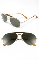 Randolph Engineering Men's 'Sportsman' 57Mm Sunglasses - Gold/ Agx