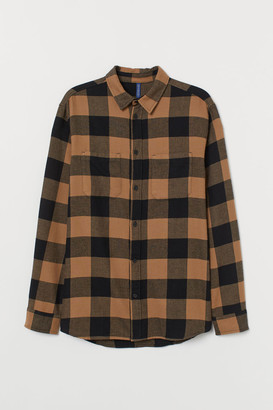H&M Cotton flannel shirt