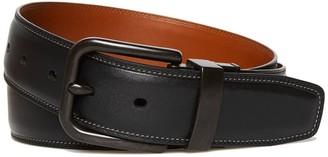 Original Penguin Blackout Reversible Leather Belt