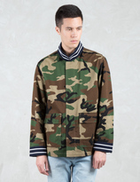 Phenomenon Camo Bomber Jacket