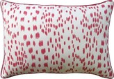The Well Appointed House Brunschwig Les Touches Pillow in Pink-Available in Two Different Sizes