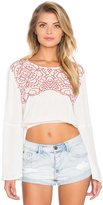 MinkPink Wild Hearts Top