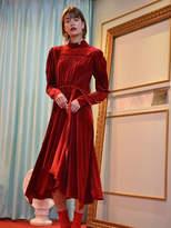 Velvet Merlot Dress