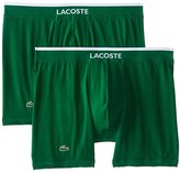 Lacoste Men's 2-Pack Cotton Stretch Boxer Brief