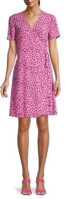 Diane von Furstenberg Saville Printed Wrap Dress