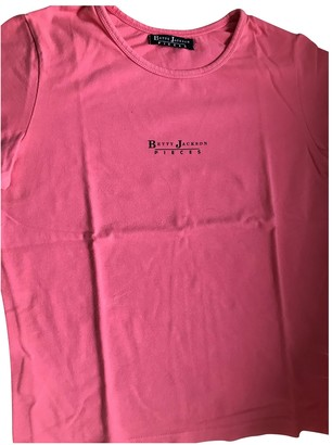 Betty Jackson Pink Cotton Top for Women
