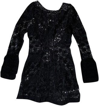 Nina Ricci Black Lace Dress for Women