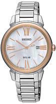 Seiko Women's Conceptual Solar Date Bracelet Strap Watch