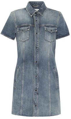 Saint Laurent Denim minidress
