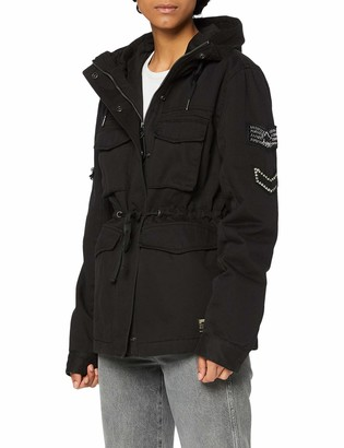 Superdry Women's Bling Relaxed Rookie Parka