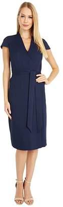 J.Crew Tropicana Dress (Navy) Women's Clothing