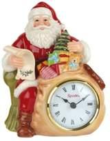 "Spode Christmas Tree 8"" Santa Clock"