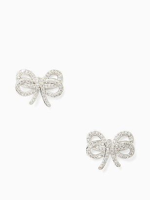 Kate Spade Bow Meets Girl Pave Studs
