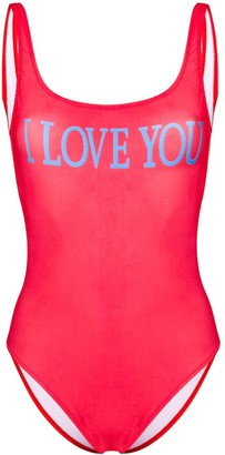 Alberta Ferretti I Love You swimsuit