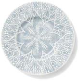 Vietri Lace Gray Salad Plate