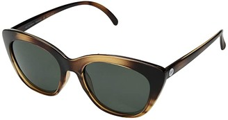 Sunski Mattinas - Lifestyle Collection (Tortoise/Forest) Fashion Sunglasses
