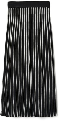 Tory Burch Striped Sweater Skirt