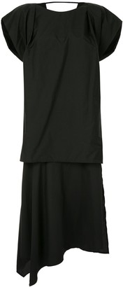 Juun.J Structured Sleeve Dress