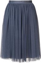 Needle & Thread pleated full skirt - women - Nylon/Polyester - 0